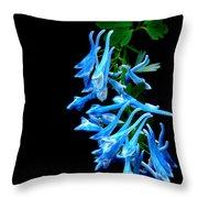 Corydalis  Throw Pillow