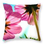 Cosmia Flower Twins Throw Pillow