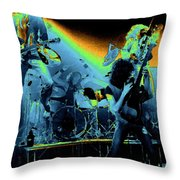 Cosmic Derringer Electrify Spokane 2 Throw Pillow