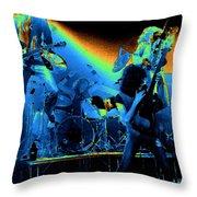 Cosmic Derringer Electrify Spokane Throw Pillow