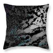 Cosmic Dust Throw Pillow