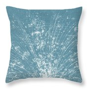 Cosmic Ray Particle Tracks Throw Pillow