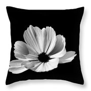 Cosmo Black And White Throw Pillow