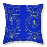 Cosmological Models Throw Pillow by Science Source