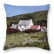 Cottage, Ireland Throw Pillow