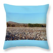 Cotton Landscape Protected 02 Throw Pillow