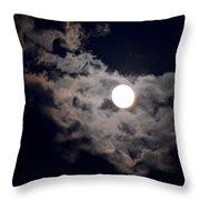 Cotton Moonlight Throw Pillow