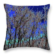 Cottonwood Line Up Throw Pillow