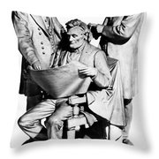 Council Of War Throw Pillow by Granger