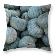 Counting Squash Throw Pillow