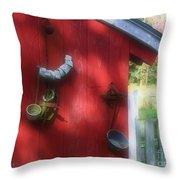 Country Decorating Throw Pillow