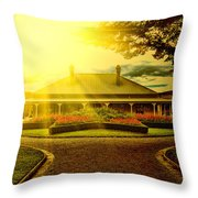 Country Estate Throw Pillow