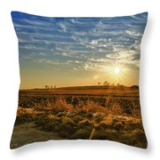 Country Light Throw Pillow