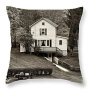 Country Living Sepia Throw Pillow