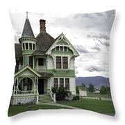 Country Victorian - Hamilton Montana Throw Pillow