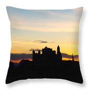 County Tipperary, Ireland Rock Of Throw Pillow