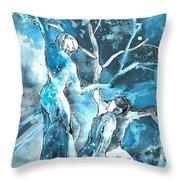 Coup De Grace 02 Throw Pillow