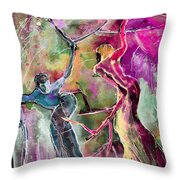 Coup De Tete Throw Pillow