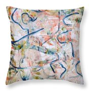 Couple In Bed Throw Pillow