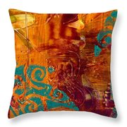 Courageous Journey I Throw Pillow