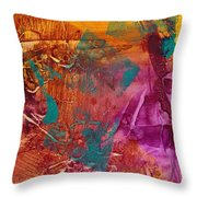 Courageous Journey II Throw Pillow