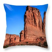 Courthouse II Throw Pillow