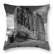 Couthouse Iv Throw Pillow