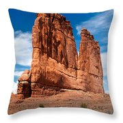 Couthouse Throw Pillow