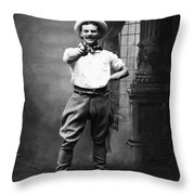 Cowboy, 1880 Throw Pillow