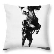 Cowboys, 1909 Throw Pillow