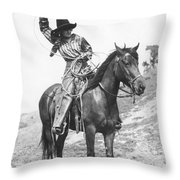 Cowgirl, C1920 Throw Pillow