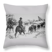 Cowgirls Are Cowboys Too Throw Pillow