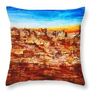 Coyotes Are Calling Throw Pillow
