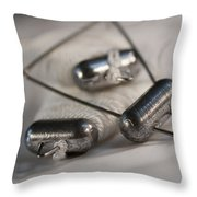 Crab Lines Throw Pillow
