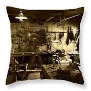 Craftmanship Throw Pillow