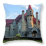 Craigdarroch Castle Throw Pillow