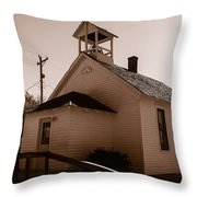 Cramer School 1875 Throw Pillow