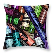 Crayola 2 Throw Pillow