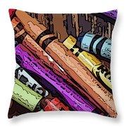 Crayola 5 Throw Pillow