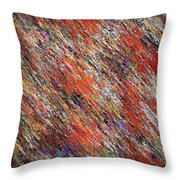 Crayons - The Whole Box Throw Pillow