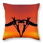 Creation 178 Throw Pillow