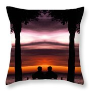 Creation 36 Throw Pillow