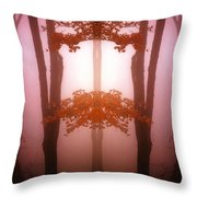 Creation 77 Throw Pillow