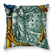 Creation Giunta Pontificale 1520 Throw Pillow