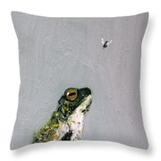 Creation Rocks And Tremble Top And Base Throw Pillow