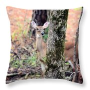 Creature Of The Forest Throw Pillow