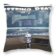 Creeping Death Throw Pillow