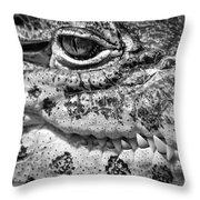 Creepy Crawler Throw Pillow