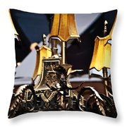 Creole Chandelier  Throw Pillow