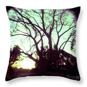 Crepescule Throw Pillow